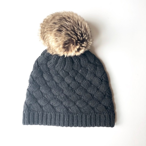 58dee72bf657 J. Crew Factory Accessories - Wool Pom Pom beanie